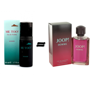 Milton Lloyd Me too Homme and Joop Homme