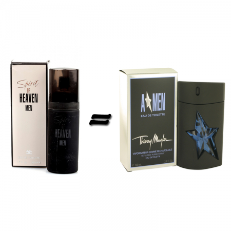 Milton Lloyd Spirit of Heaven Homme for men and Theirry Mugler Angel for Men