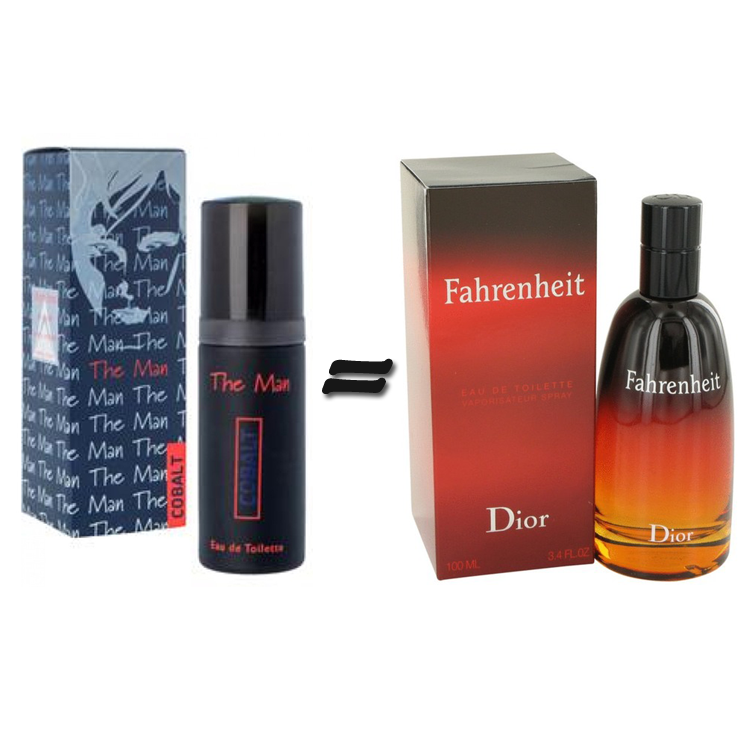 Milton Lloyd The Man Cobalt and Fahrenheit Dior for men