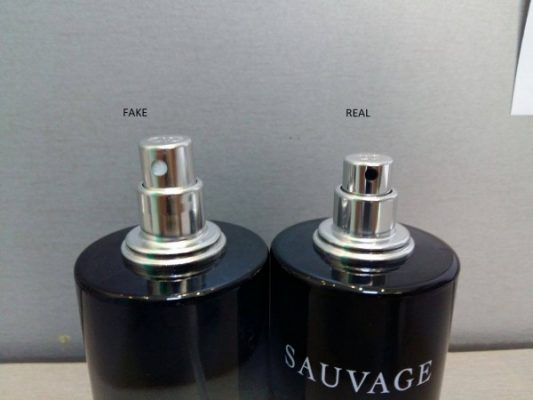 Nozzle-fake-vs-original-Sauvage
