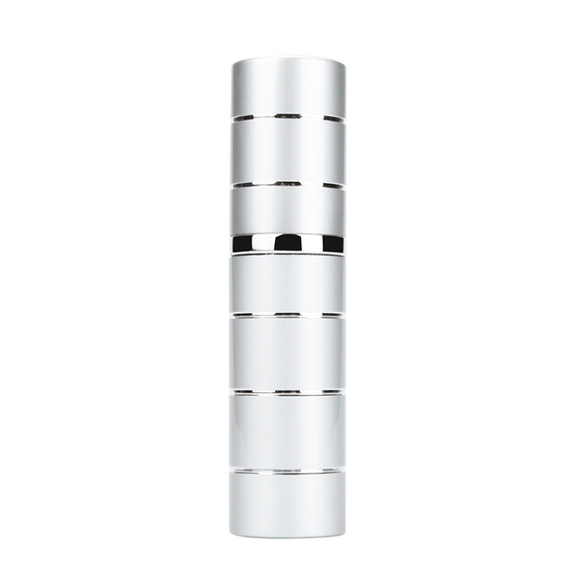 10ml-Alluminum-Refillable-Perfume-Travel-Atomizer-Stripped-Silver