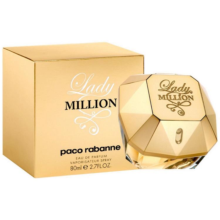 Paco Rabanne Lady Million EDP for Women (80ml) (100% Original)