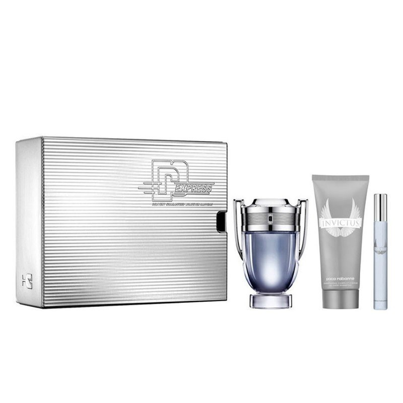 paco-rabanne-invictus-100ml-edt-100ml-all-over-shampoo-10ml-mini-set-Front