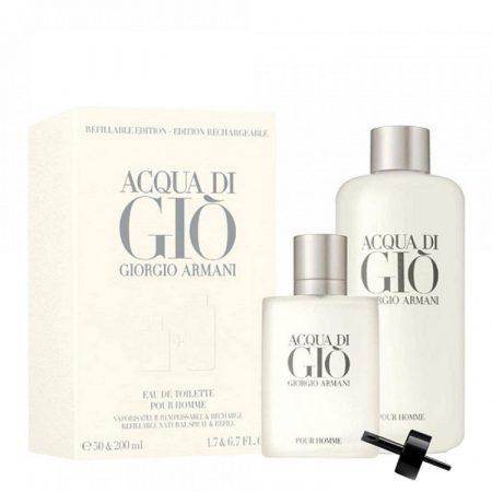 Giorgio-Armani-Acqua-Di-Gio-200ml-50ml-Refill-Bottle-EDT-for-Men