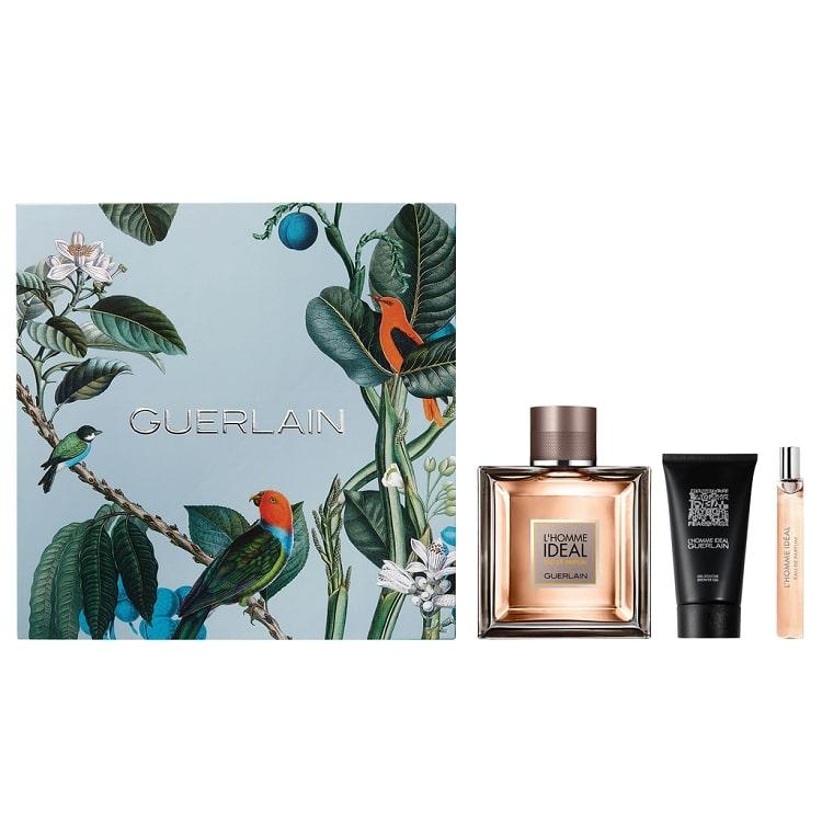 Guerlain-L'homme-Ideal-3-Pcs-Gift-Set-for-Men-EDT